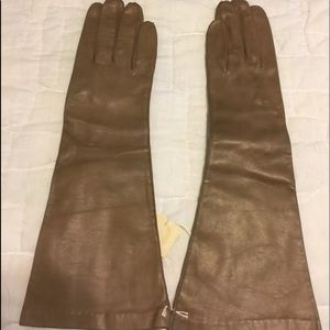 New old stock vintage leather gloves xs